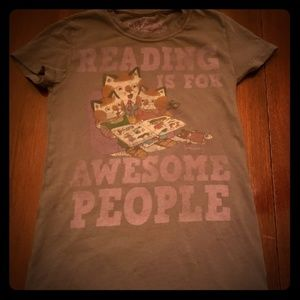 Reading Is For Awesome People TShirt